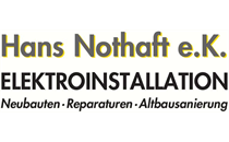 Logo von Nothaft e.K. Elektroinstallation